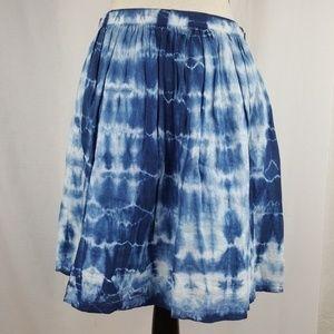 Madewell Tie Dye Skirt